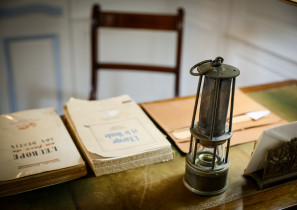 Miners' lamp at the Jean Monnet House